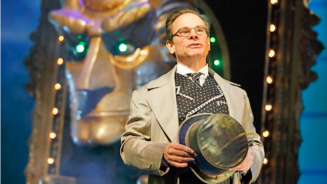 Peter Scolari as the Wizard of Oz