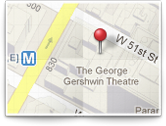 Wicked Broadway Map Icon for Gershwin Theater